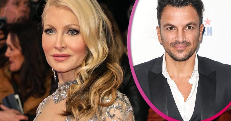 Caprice and Peter Andre