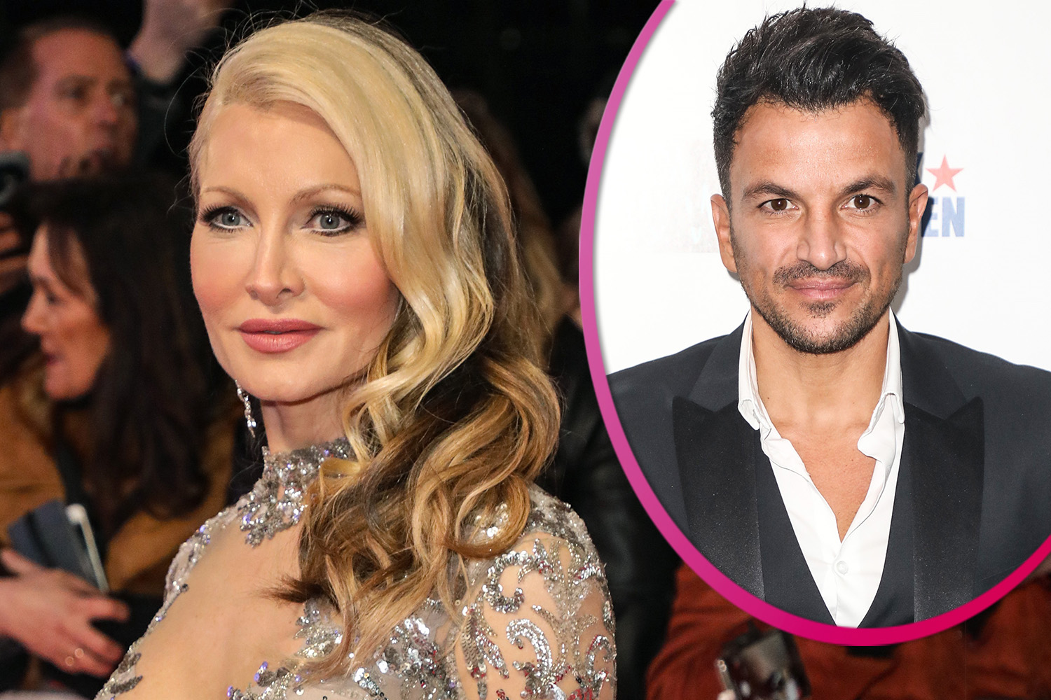 Caprice Bourret calls out Peter Andre for calling her 'foolish' over coronavirus comments