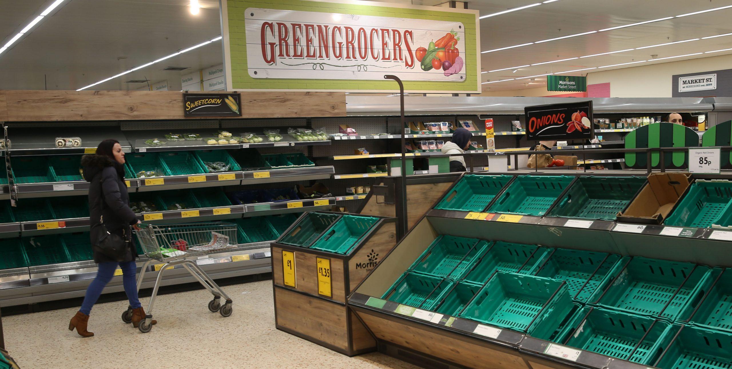Coronavirus: Morrisons donates groceries worth £10 million to help restock Britain's food banks