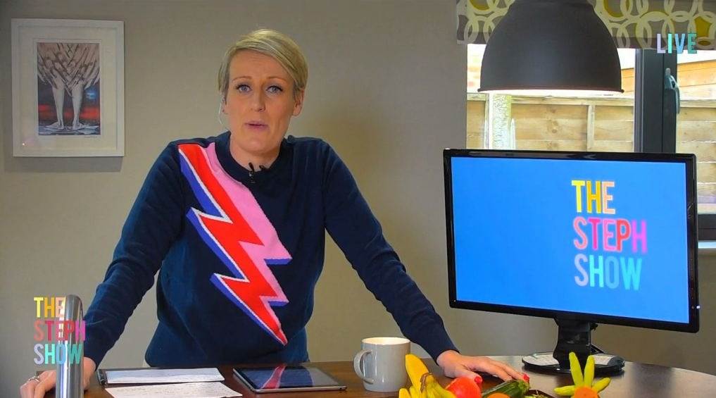 Steph McGovern in The Steph Show