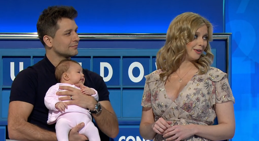 Channel 4 viewers delighted as Rachel Riley brings baby Maven on Countdown