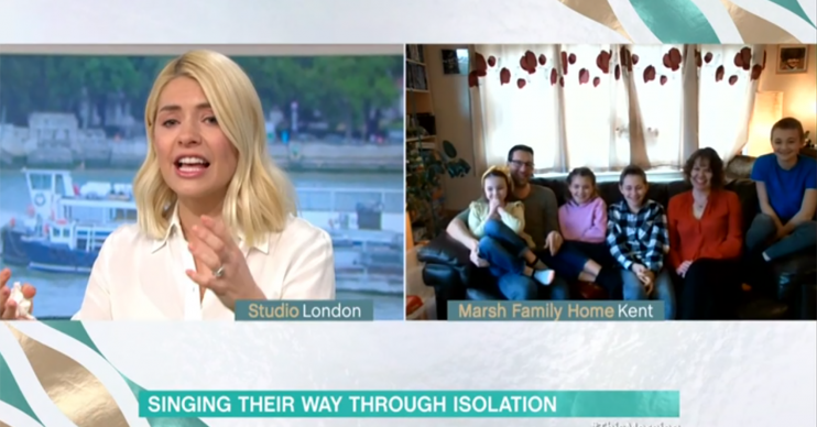 Holly Willoughby on This Morning - Credit: ITV