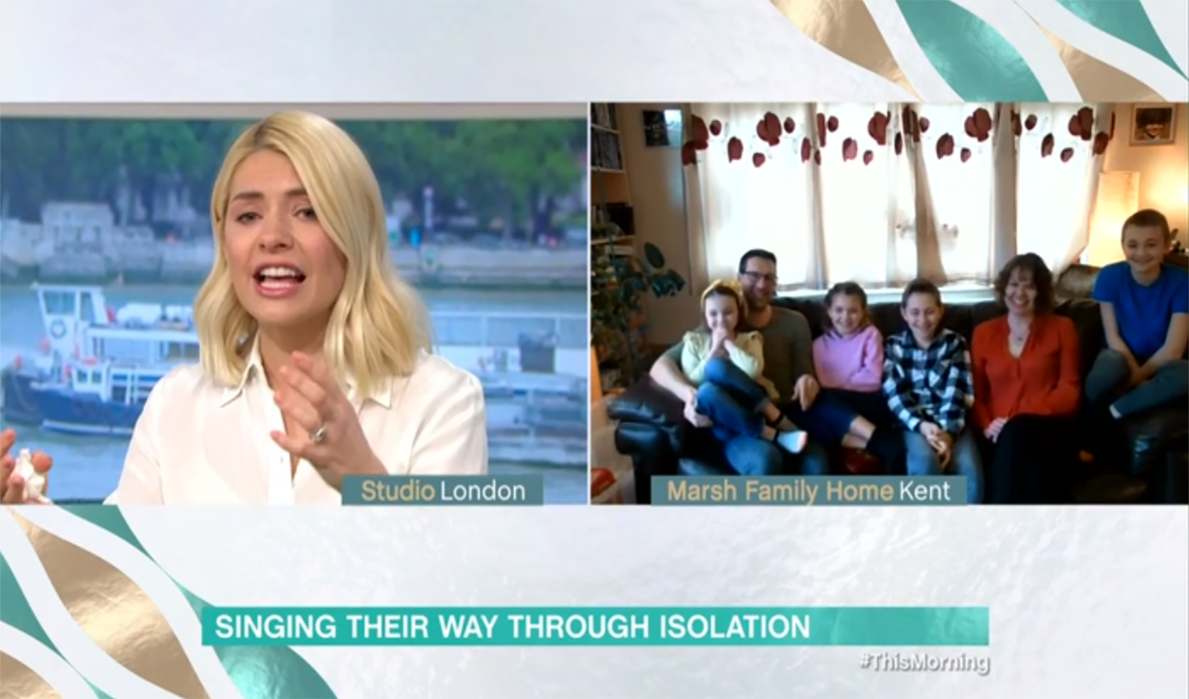 Holly Willoughby tears up over family's incredible isolation song amid coronavirus crisis