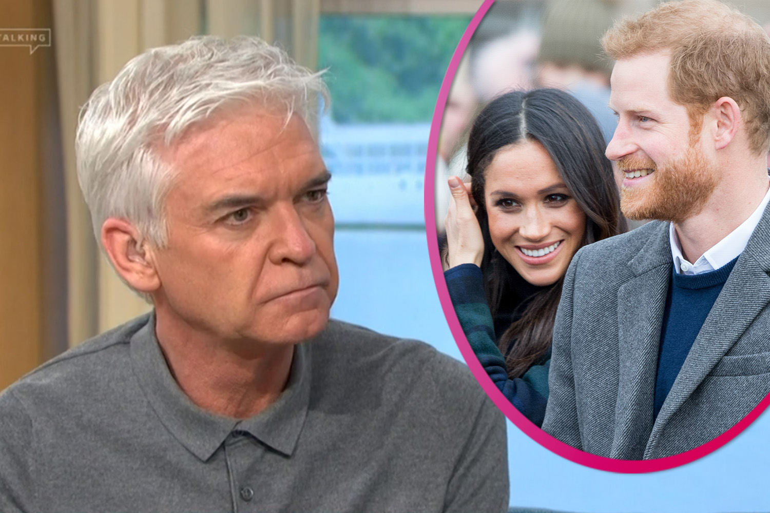 Phillip Schofield fears Prince Harry 'isn't wired' for LA as he and 'Meghan set up home in US'