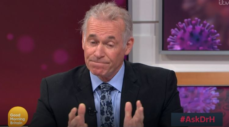 Dr Hilary Jones Good Morning Britain