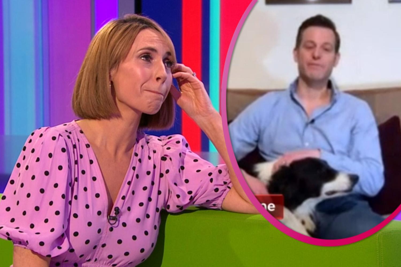Alex Jones gets choked up as Matt Baker bids farewell to The One Show