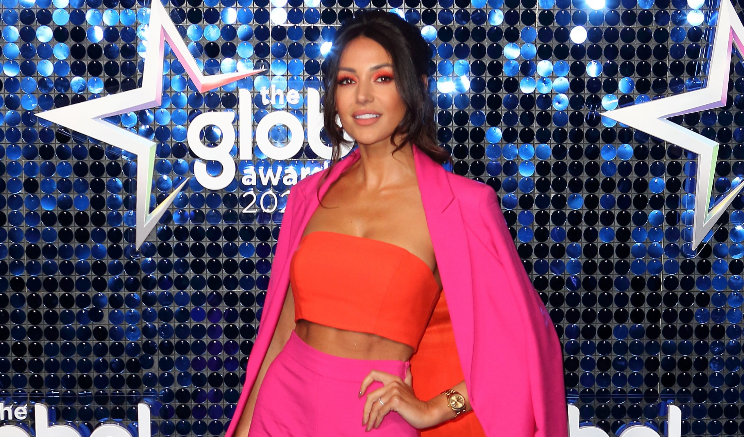Michelle Keegan stuns fans with natural curly locks
