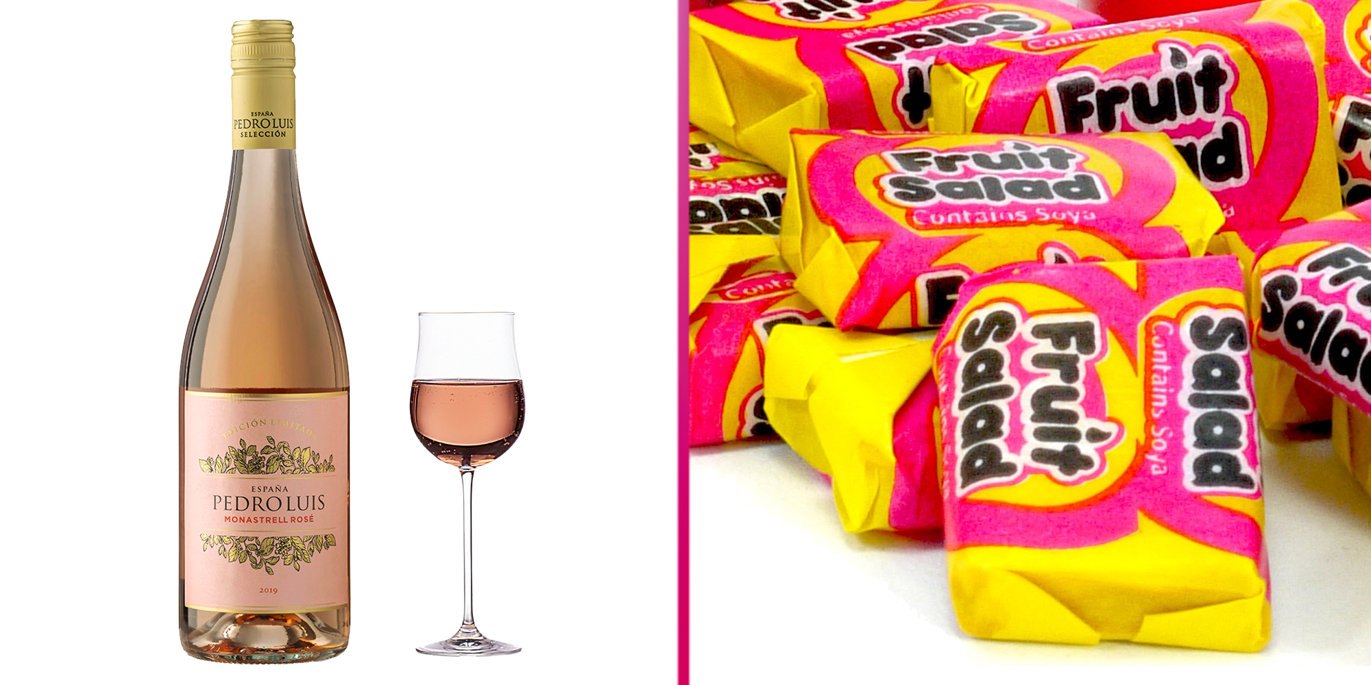 Aldi launches a rosé wine that tastes just like retro Fruit Salad sweets – and it's available to order online