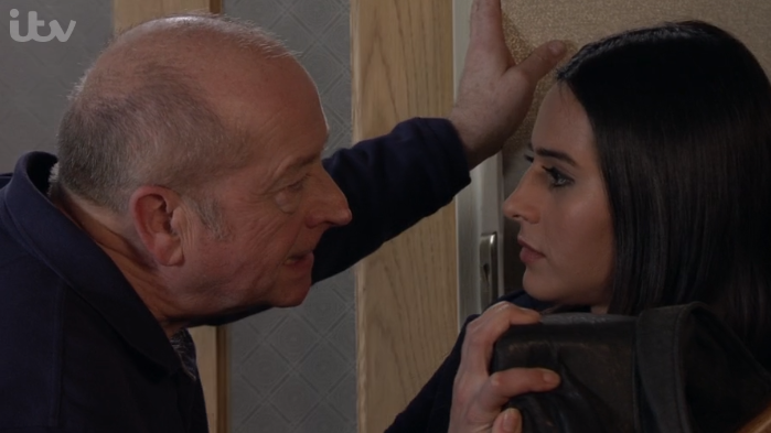 Coronation Street viewers cheer as Yasmeen finally starts to see Geoff's true colours
