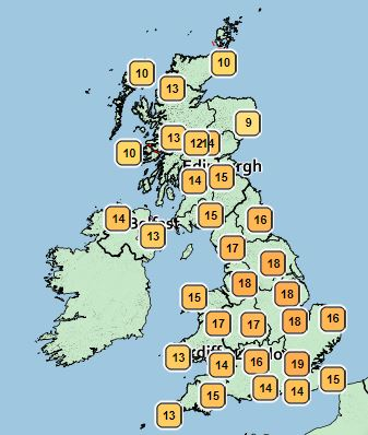 Weather: Brits warned to stay indoors as UK experiences mini heatwave this weekend