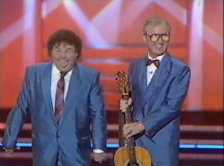 Comedian Eddie Large dies after contracting coronavirus in hospital