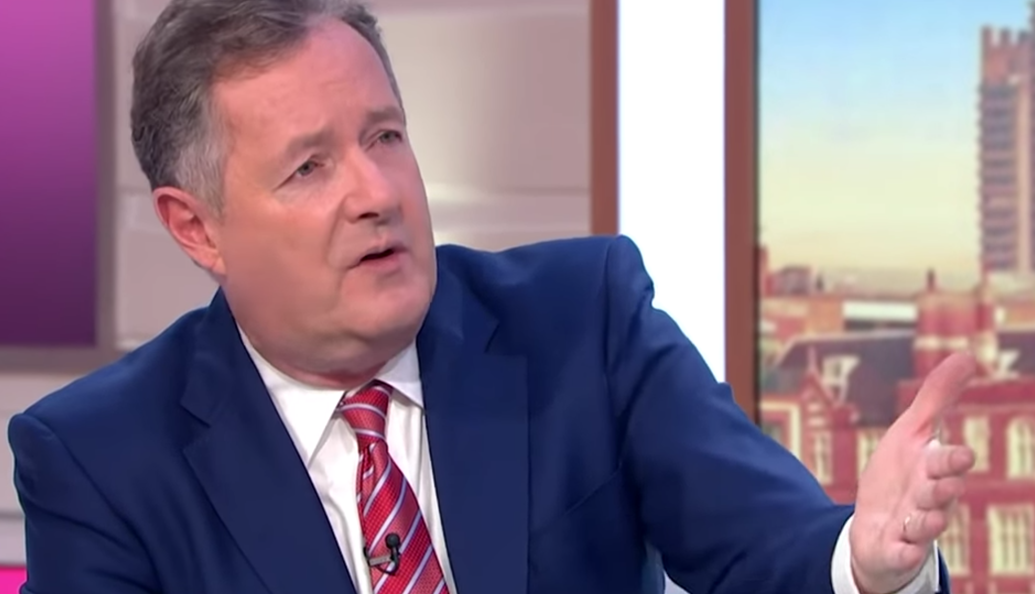Piers Morgan takes coronavirus precautions and sets up home studio for Good Morning Britain