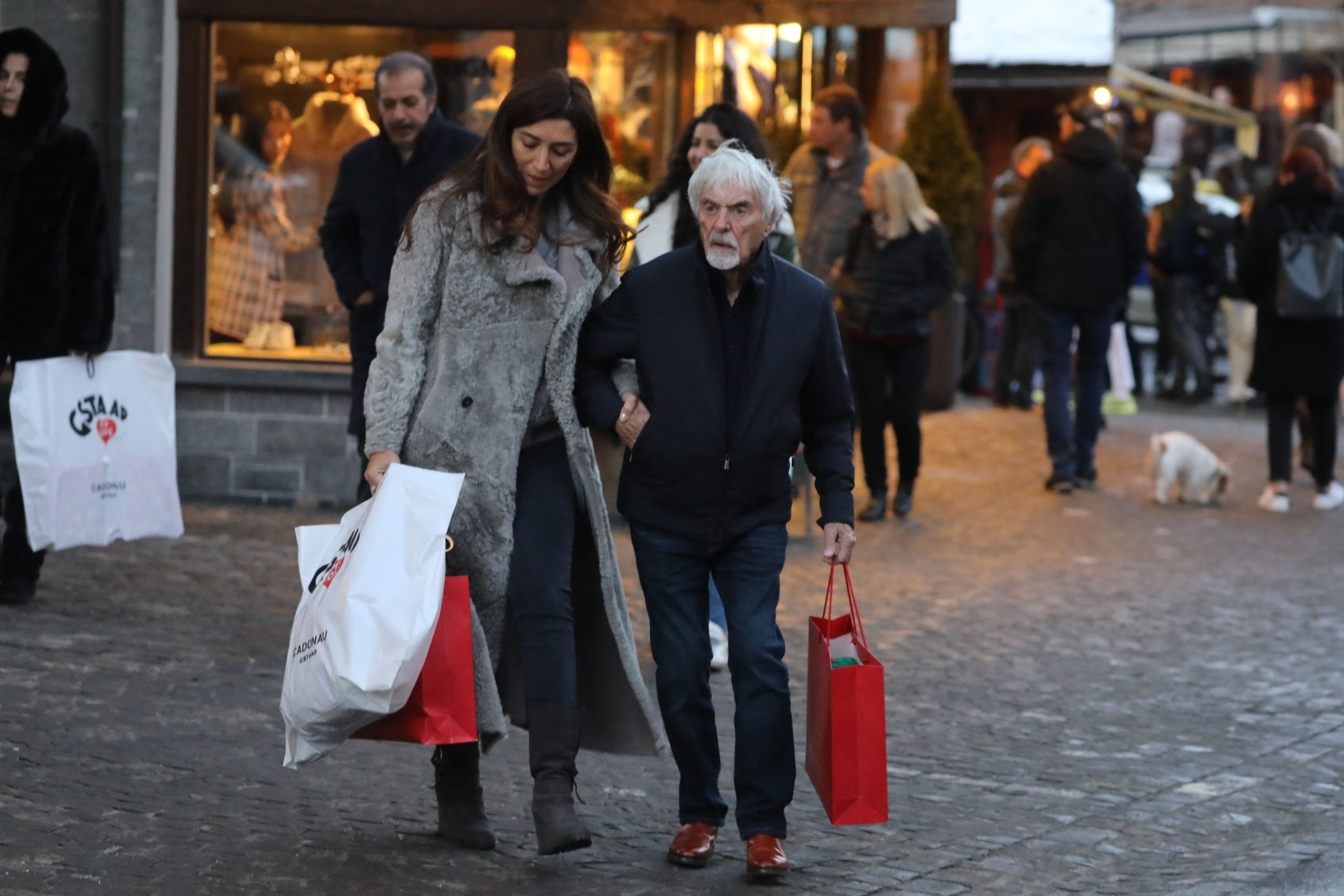 Bernie and Fabi Ecclestone expecting a summer baby boy!