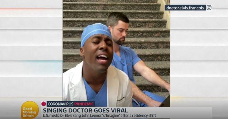 Singing surgeon Dr Elvis Good Morning Britain