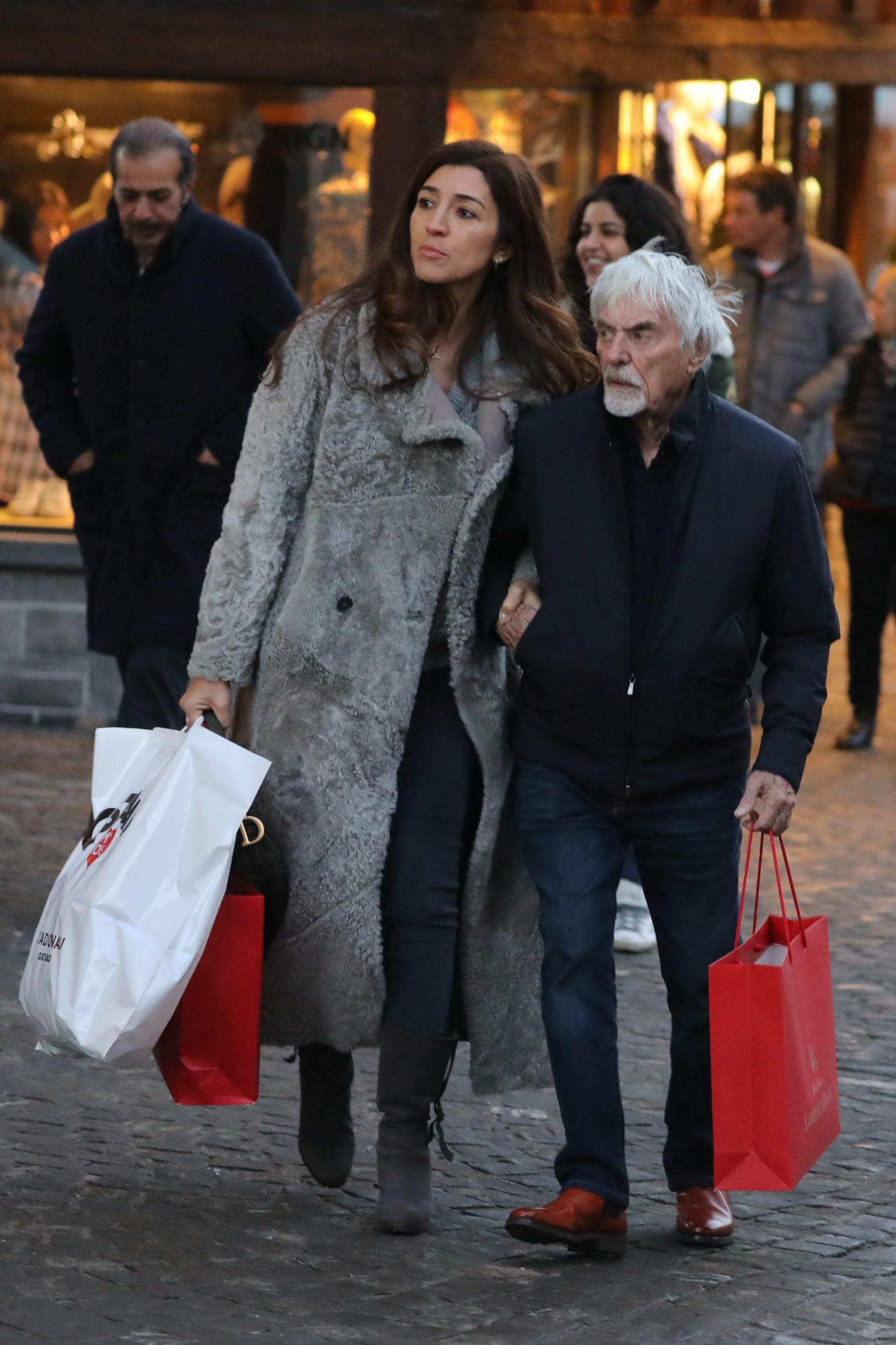 Bernie and Fabiana Ecclestone