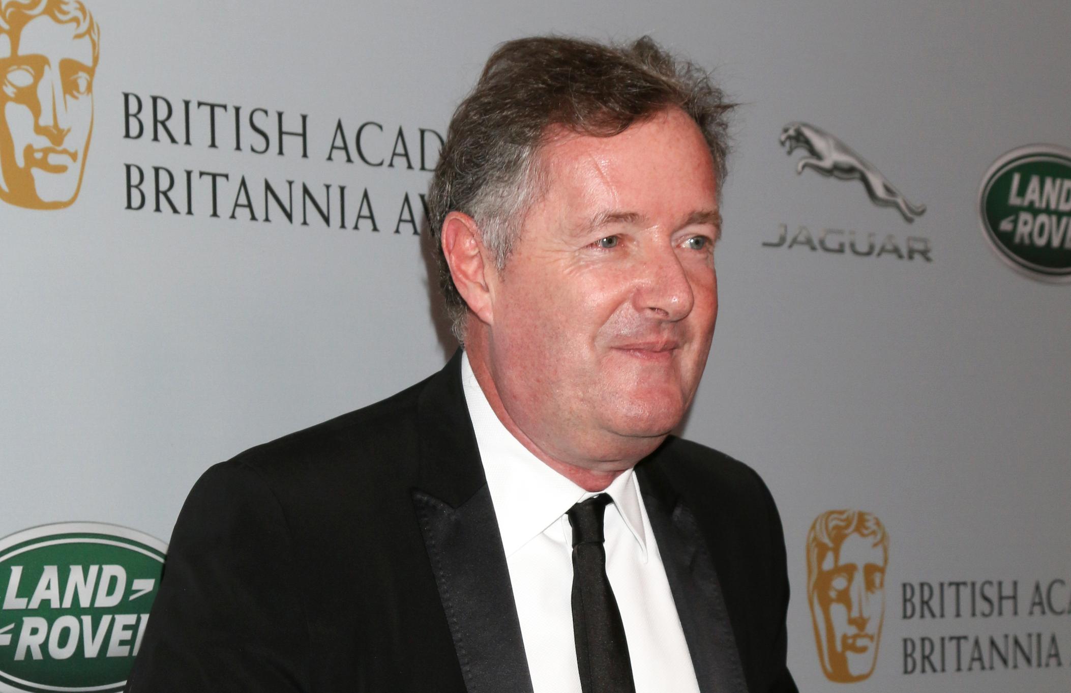 Piers Morgan pledges £10,000 to coronavirus fundraiser