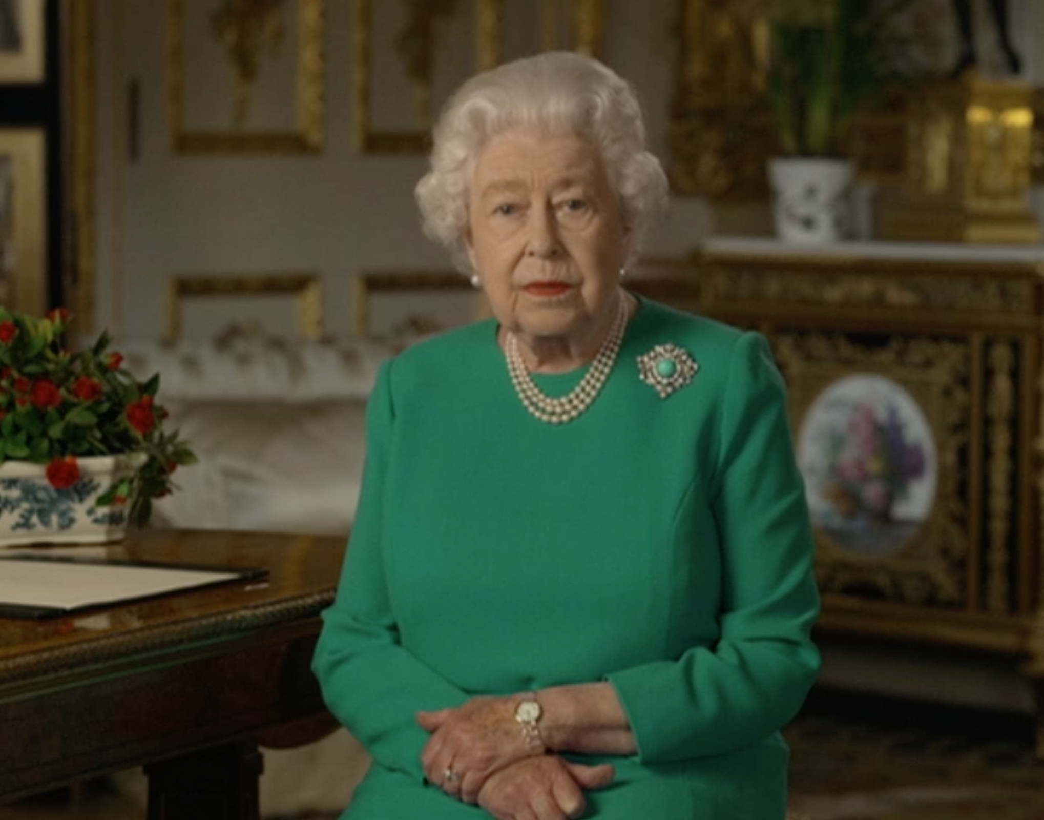 the queen coronavirus speech (Creidt: BBC)