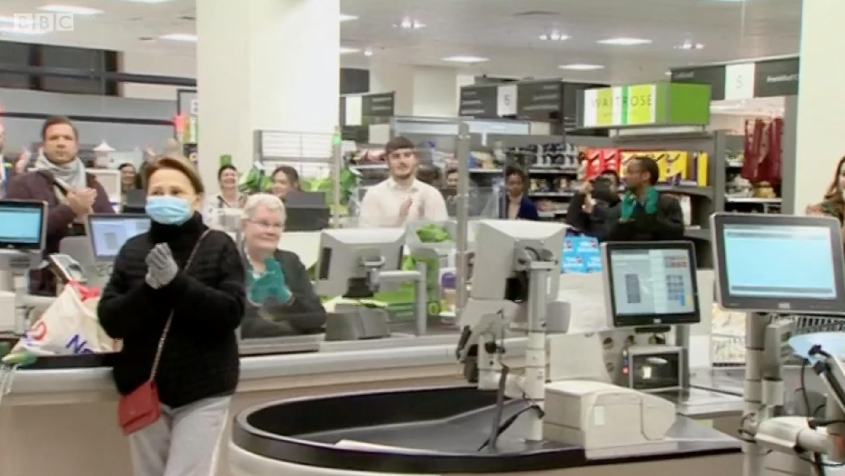 the queen coronavirus speech (Credit: BBC)