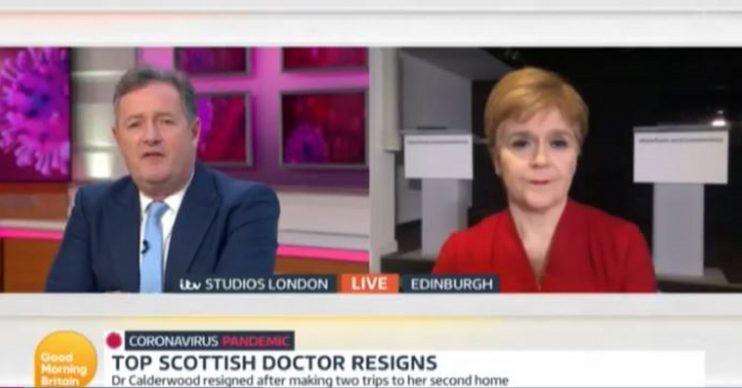 Nicola Sturgeon live on Good Morning Britain