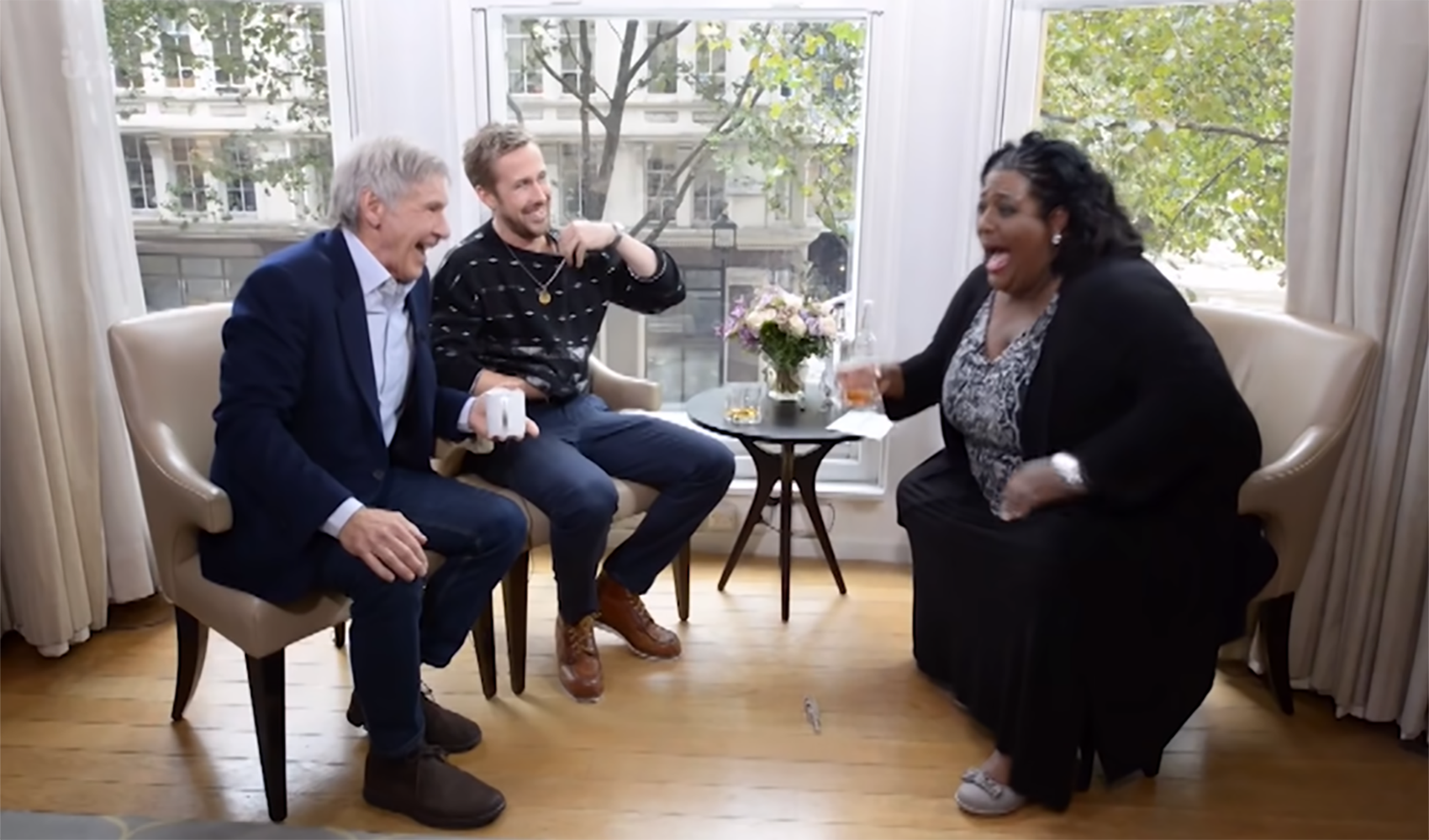 This Morning replays Alison Hammond's hilarious Harrison Ford and Ryan Gosling interview