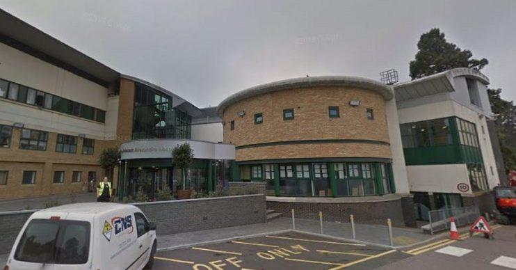 Princess Alexandra Hospital in Harlow, Essex