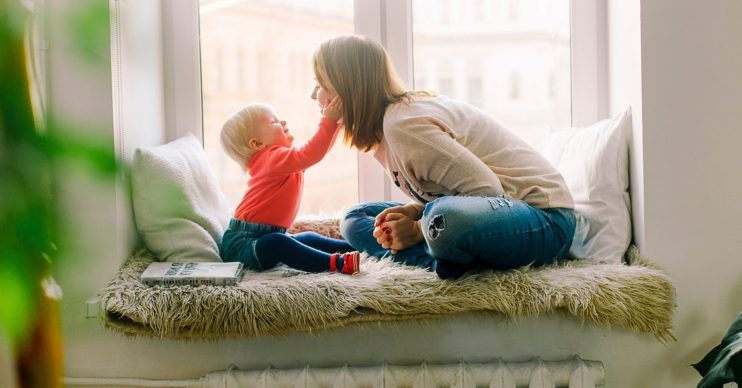 Mum and baby. Universal Credit payments increase today - what does it mean?