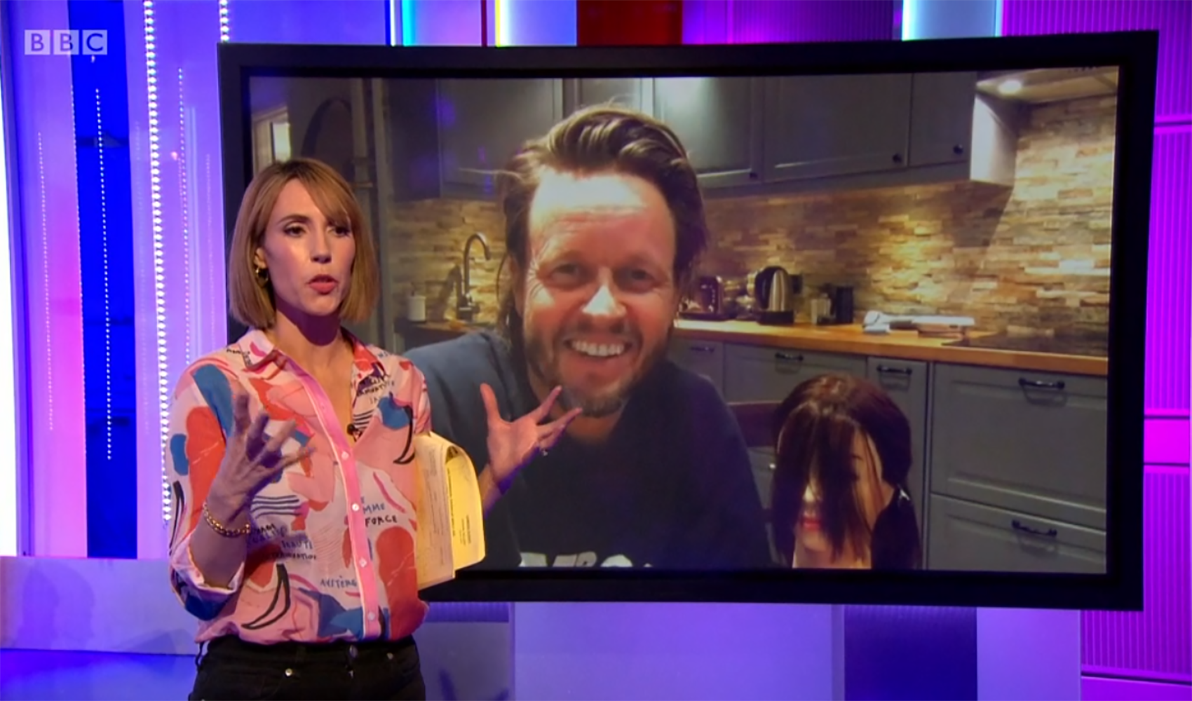 The One Show flooded with hundreds of complaints over hair advice amid lockdown