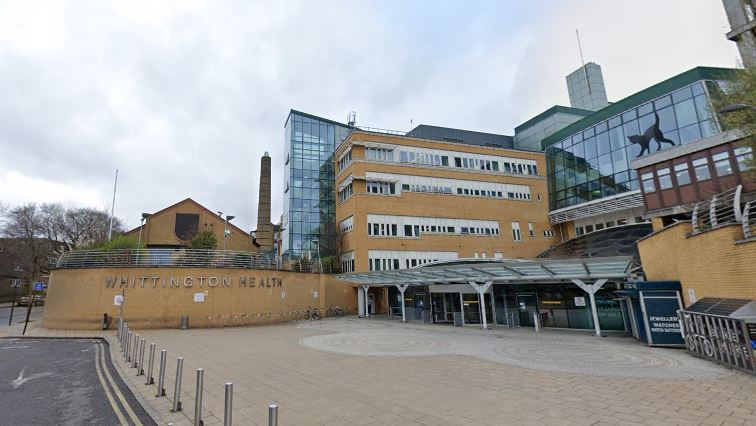 Whittington Hospital. Coronavirus: Doctors in tears after mum with COVID-19 dies while in labour