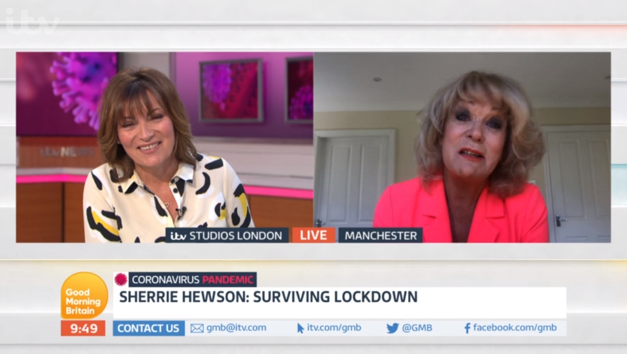 Sherrie Hewson on GMB