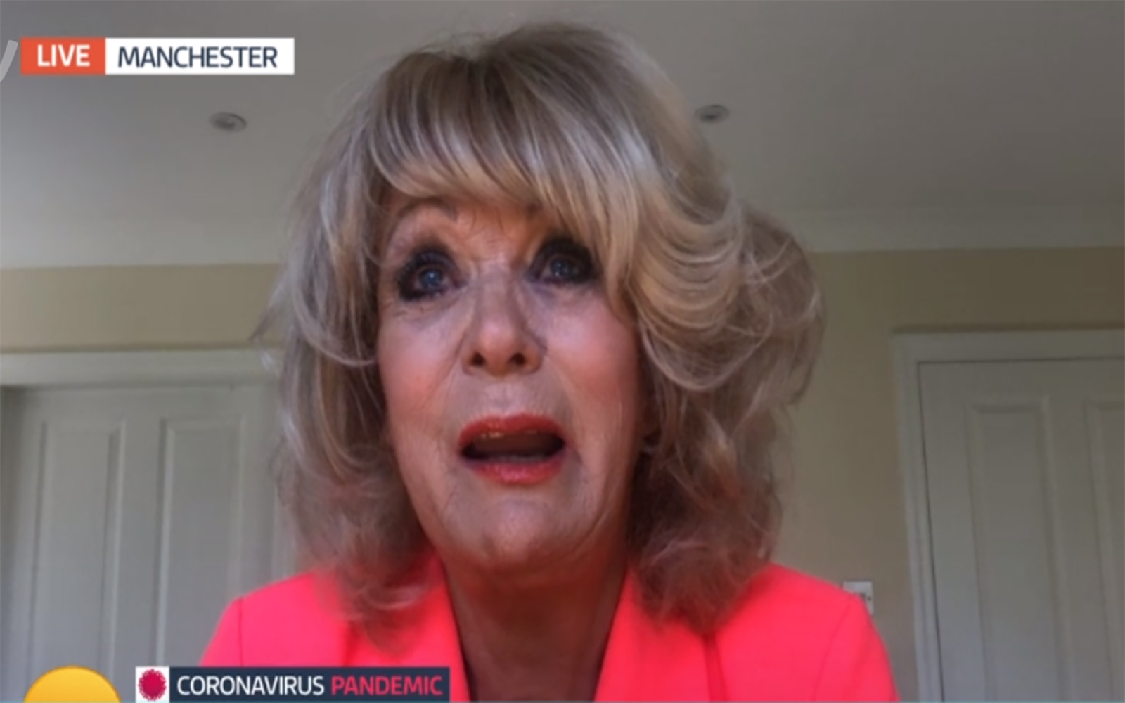 Sherrie Hewson in tears as she can't see terminally ill brother amid coronavirus crisis