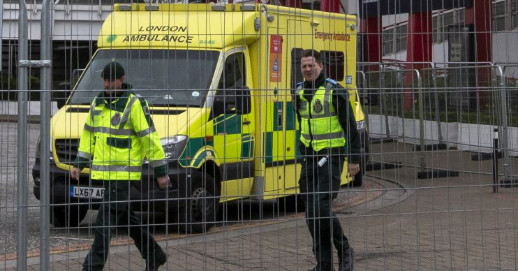 UK ambulance. Coronavirus: Researchers fear UK will become worst hit country in Europe with 66,000 deaths by July