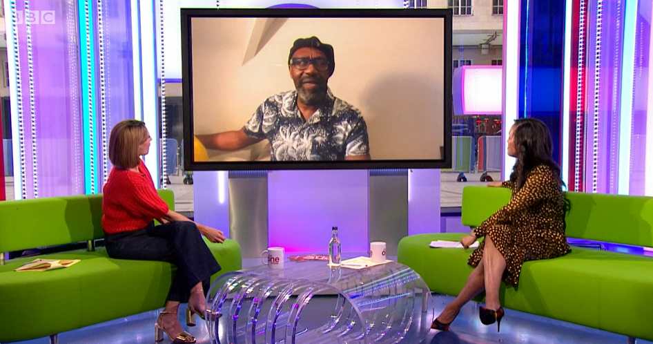 Sir Lenny Henry on One Show