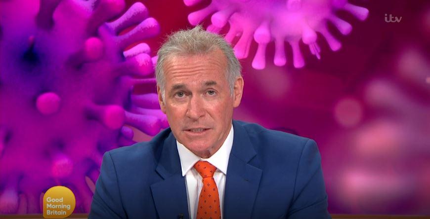 How does coronavirus spread? Good Morning Britain's Dr Hilary Jones shares the facts