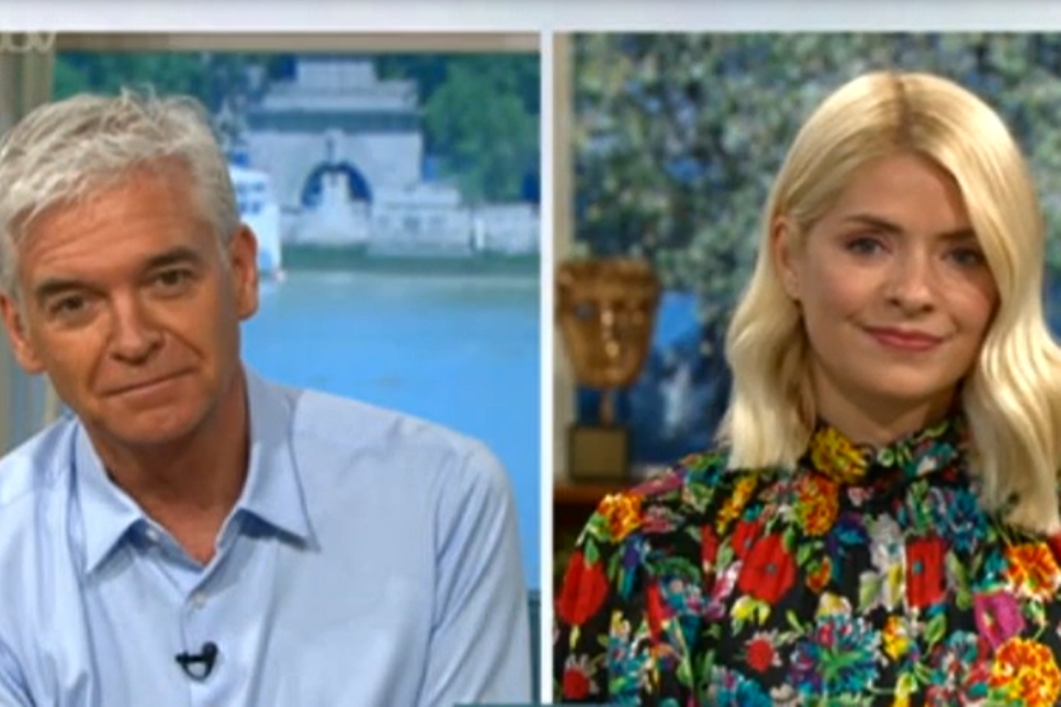 Phil Holly This Morning Credit: ITV