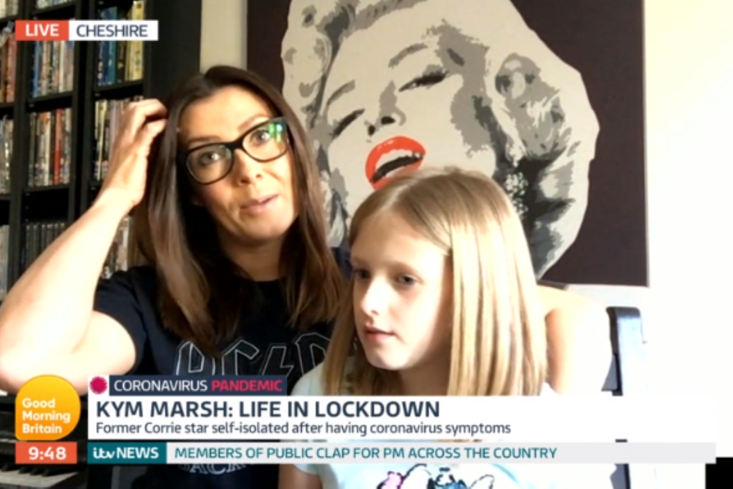 Kym Marsh's daughter Polly insults her mum during funny live interview on Lorraine