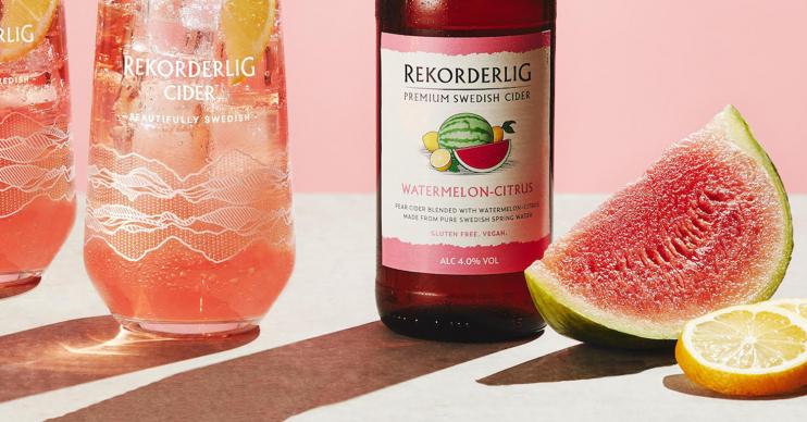 watermelon cider