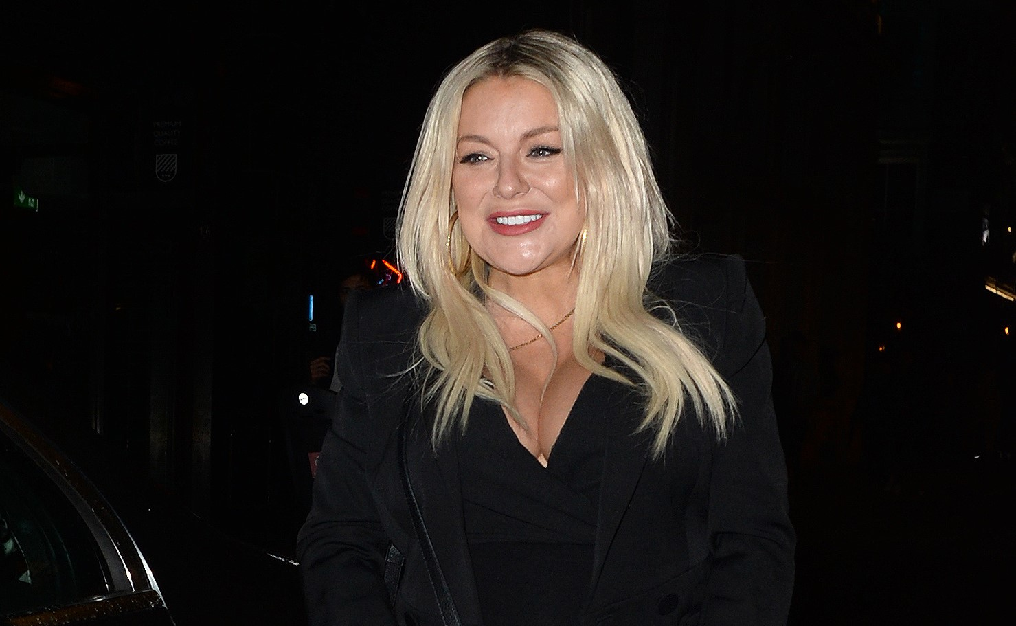 Sheridan Smith reveals she's fed up of being pregnant