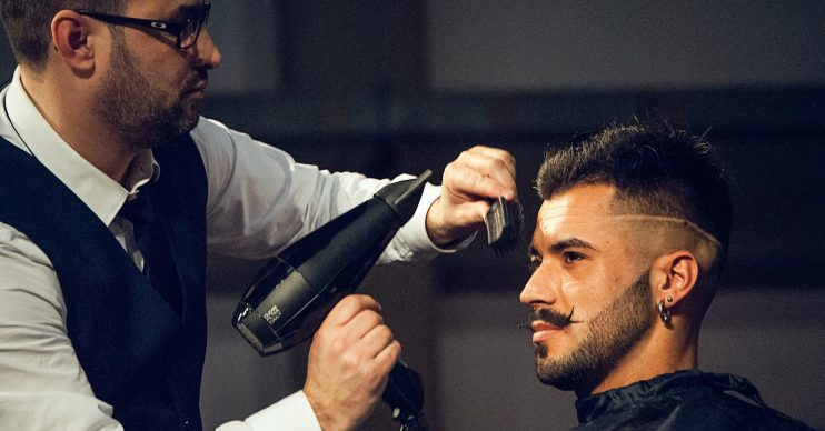 how to cut men's hair at home
