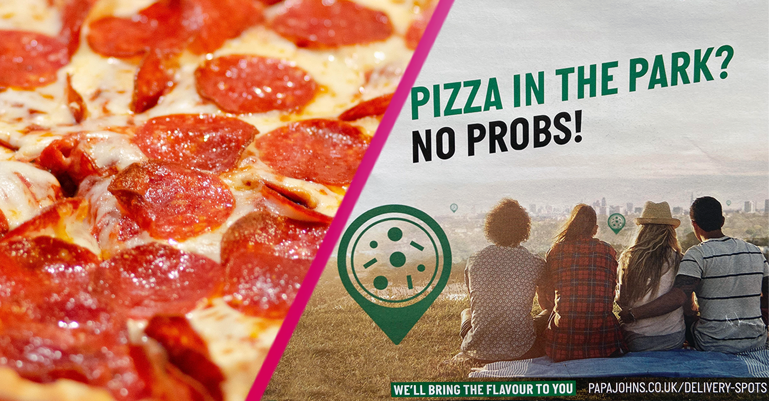 Brits slam Papa John's as it advertises its Pizza in the Park delivery service amid lockdown