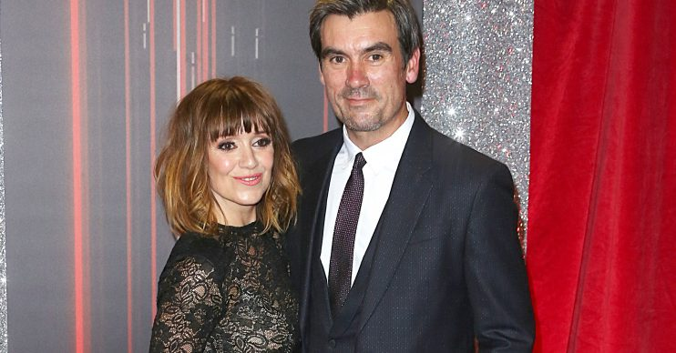Emmerdale's Zoe Henry and Jeff Hordley