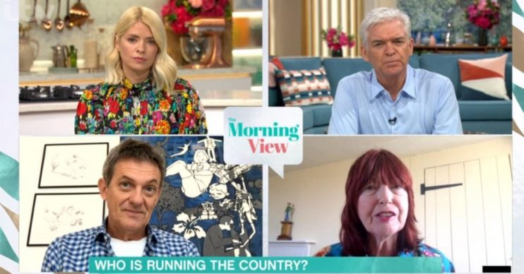 Janet Street-Porter and Phillip Schofield clash on This Morning
