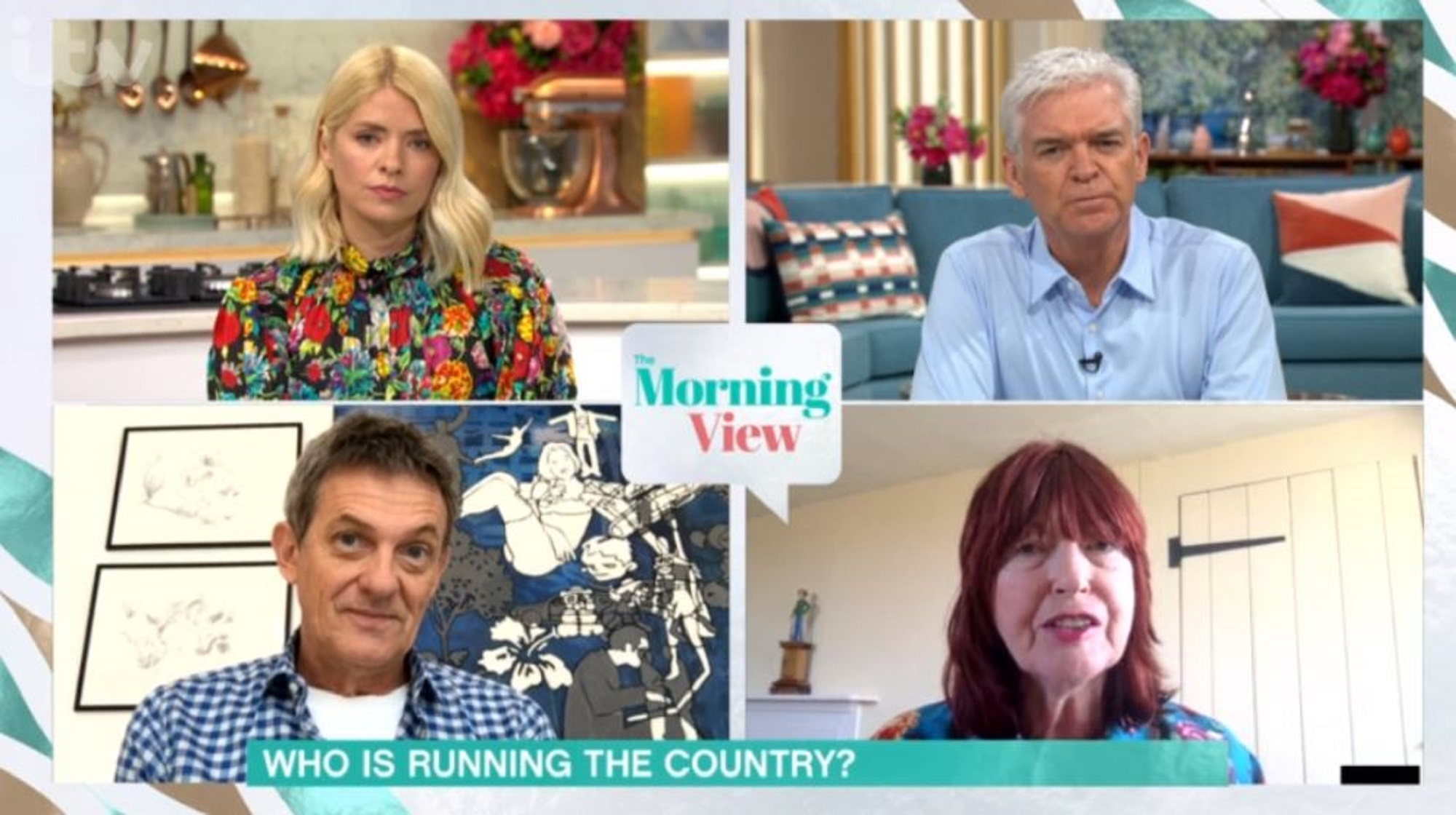 Phillip Schofield clashes with Janet Street-Porter on This Morning over call for Labour's Kier Starmer to take over