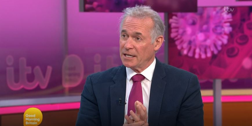 GMB's Dr Hilary Jones hits out at celebrities who aren't helping during the COVID-19 pandemic