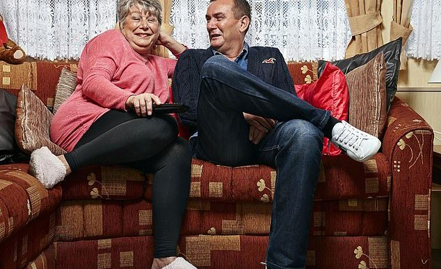 Gogglebox Lee Riley and Jenny Newby