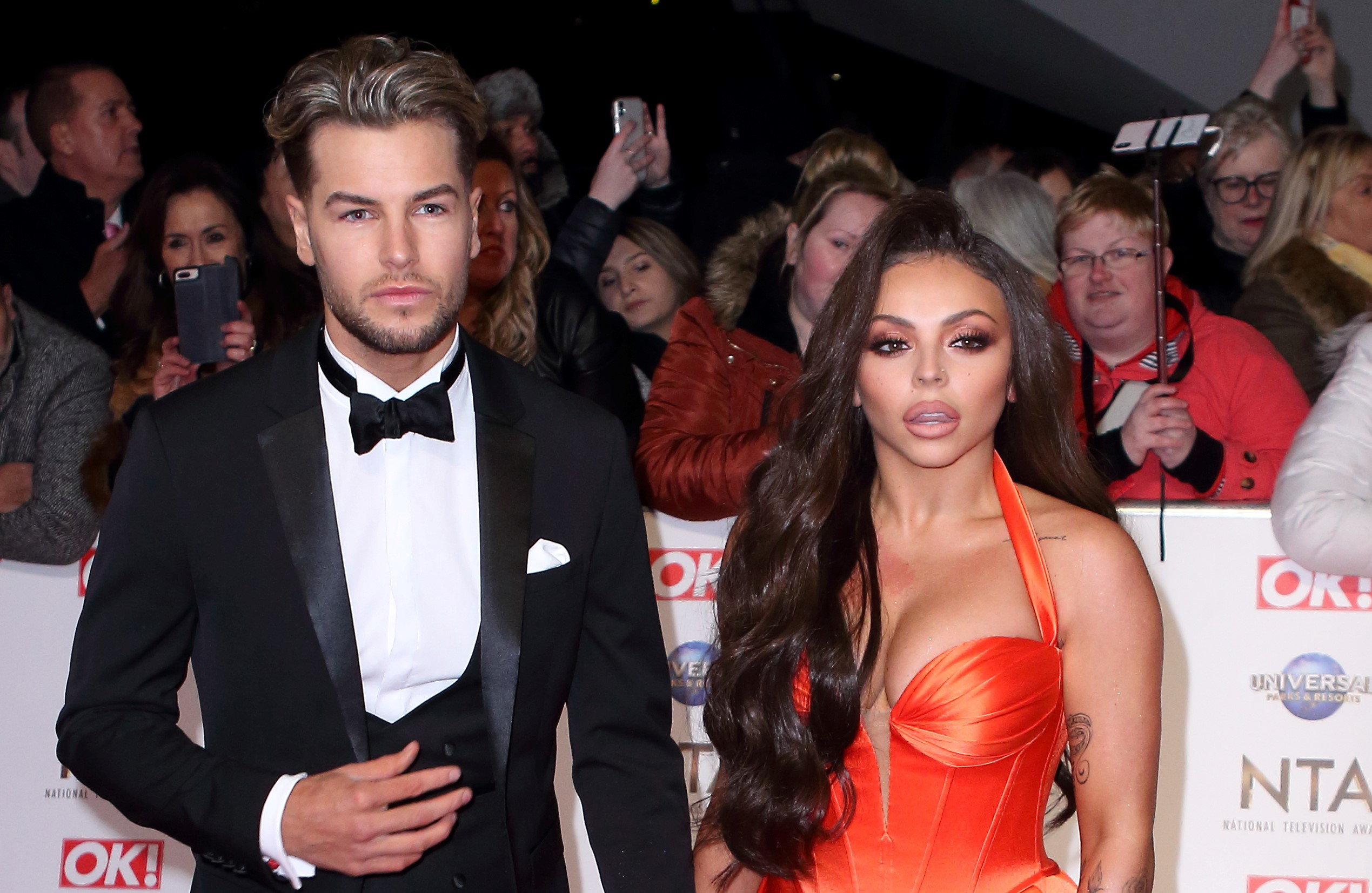 Chris Hughes and Jesy Nelson split 'as coronavirus drives them apart'