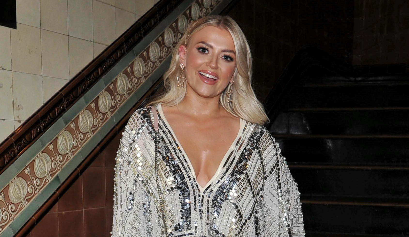 Fans say Lucy Fallon 'still looks hot' as she dresses up as a man for 'new role'