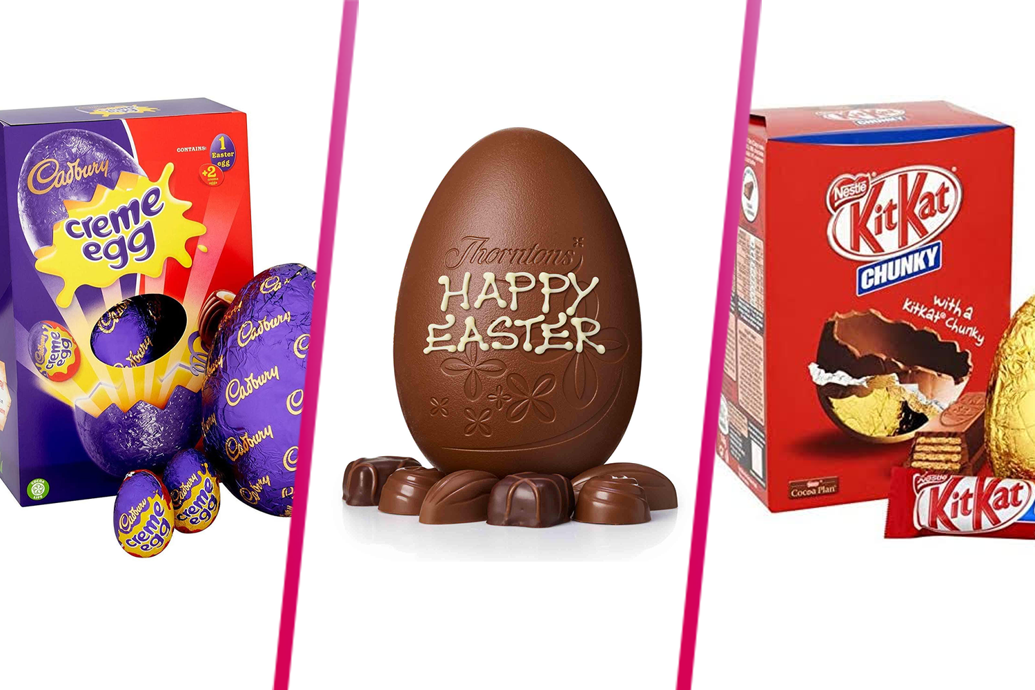 Easter egg prices slashed by half by stores such as Tesco and Asda