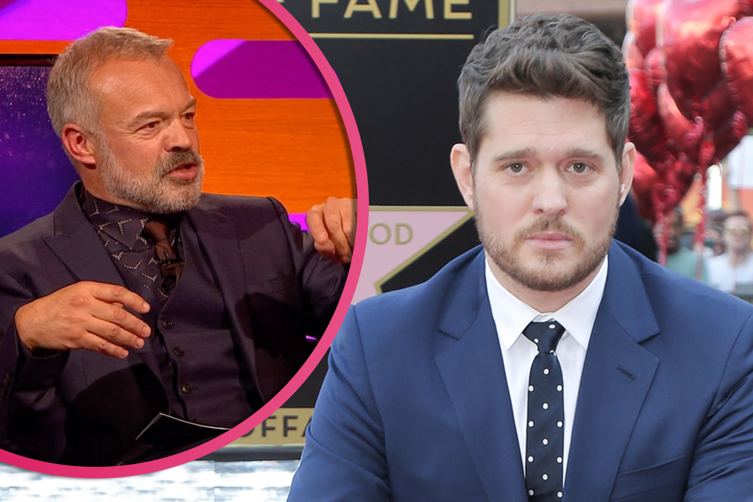 Michael Buble tells Graham Norton he suffers dad guilt as he likens lockdown to son's illness