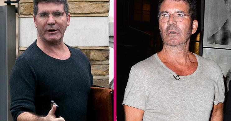 Simon Cowell weight loss