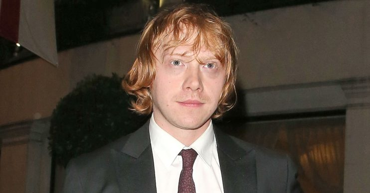 Harry Potter star Rupert Grint